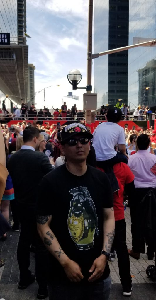 Eyes Wide Open Hustlenometry Toronto Raptors Championship Parade